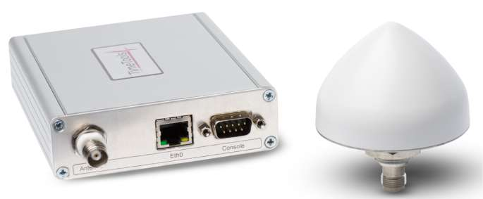 T100 Compact GPS NTP Server - Front