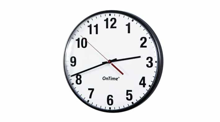 NTP-Synchronized Analog Wall Clock with PoE