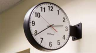 Double-Sided NTP-Synchronized Wall Clock