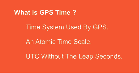 GPS time is a timescale used by the GPS system.